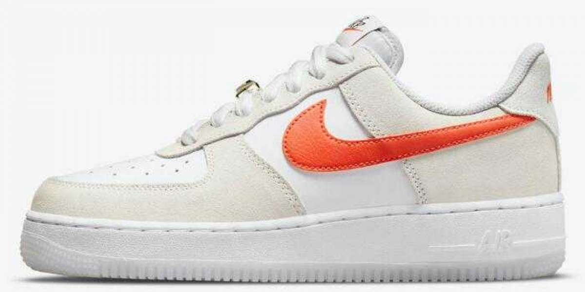 "Latest Nike Air Force 1 Low ""First Use"" Releasing With Orange Swooshes"