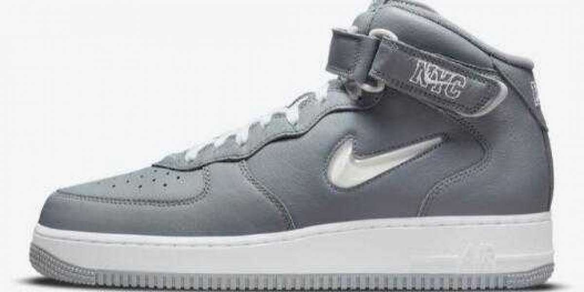 Newest Cool Grey Air Force 1 Mid To Celebrate NYC