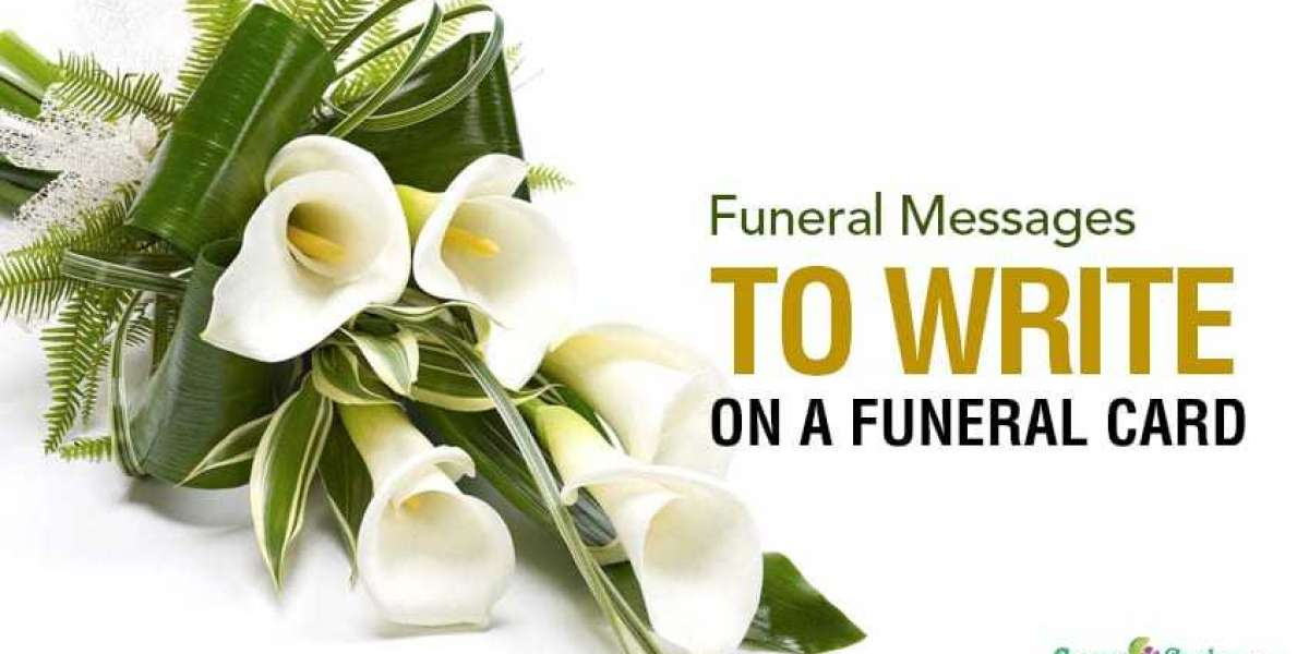 Message For Funeral Flowers